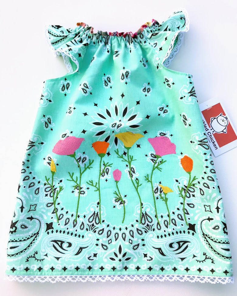 Blooming Poppies Dress