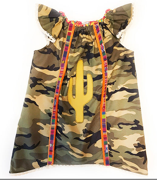 Camo and Cactus Dress