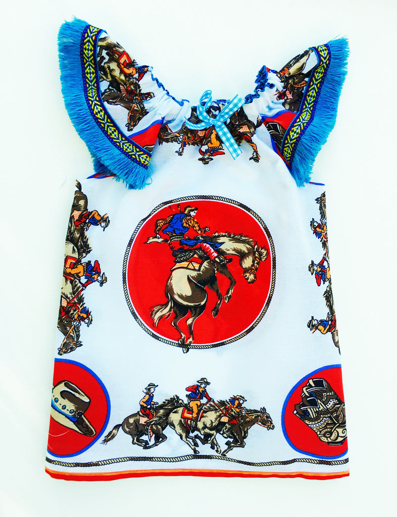 Giddy Up Girl Dress