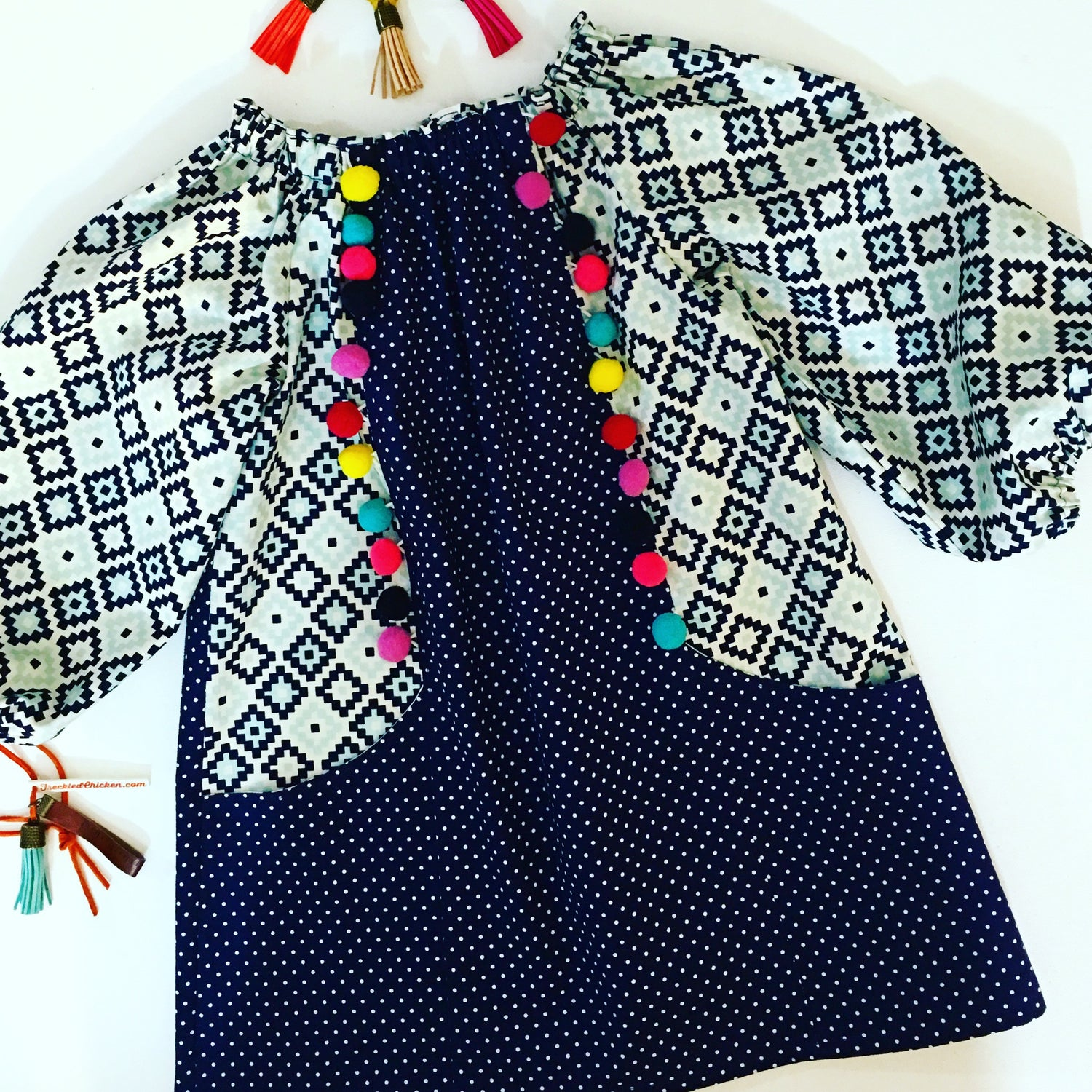 PomPom and Pocket Dress