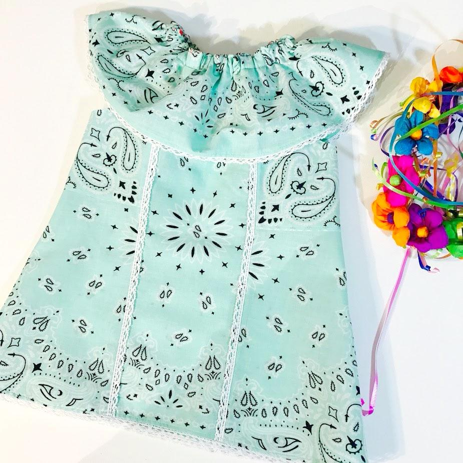Mint Julep Hanky Dress