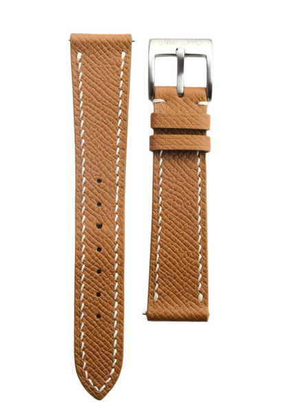 Gold Epsom Calf Leather Strap