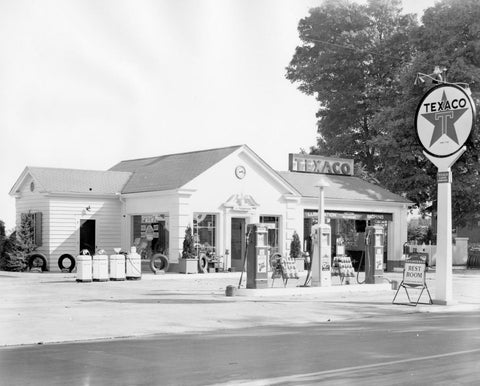 An old photo of the original use of K Brew's second location in Historic North Knoxville