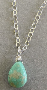 Turquoise (December) necklace