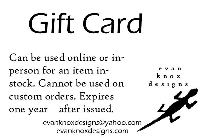 evan knox designs Gift Card
