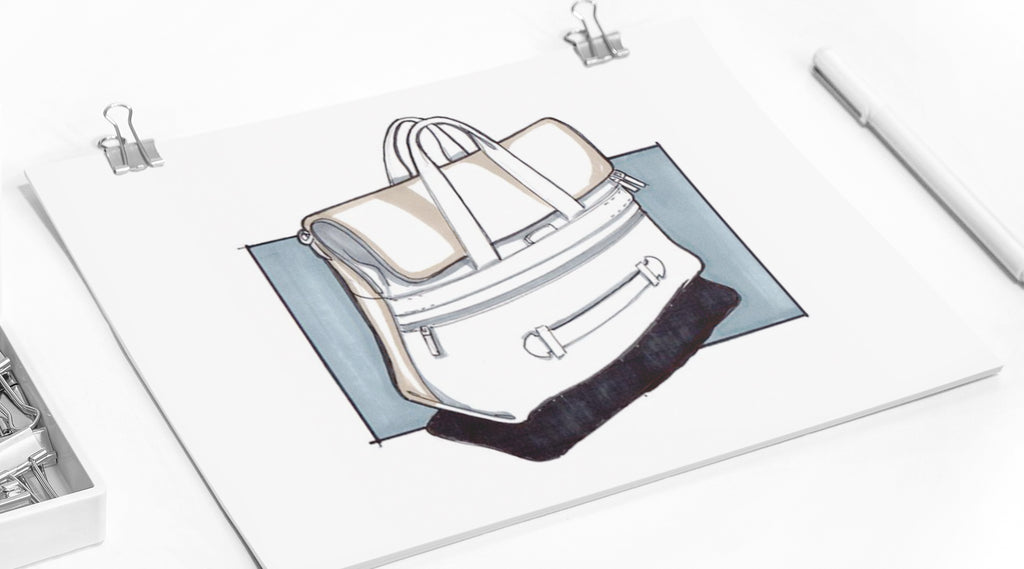 How to design a bag blog post by Vallverdu-design. Graphic resources for fashion designers and fashion illustrators