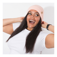 Load image into Gallery viewer, Salmon Pink Beanie