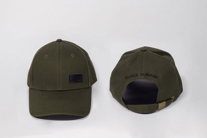 satin lined green cap for curly hair