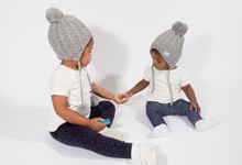 Load image into Gallery viewer, Baby's First Satin Lined Beanie 6 Months - 2 Years