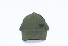 Load image into Gallery viewer, Khaki Green Satin Lined Half-Full Baseball Cap