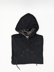 SATIN LINED hoodies slap winter black