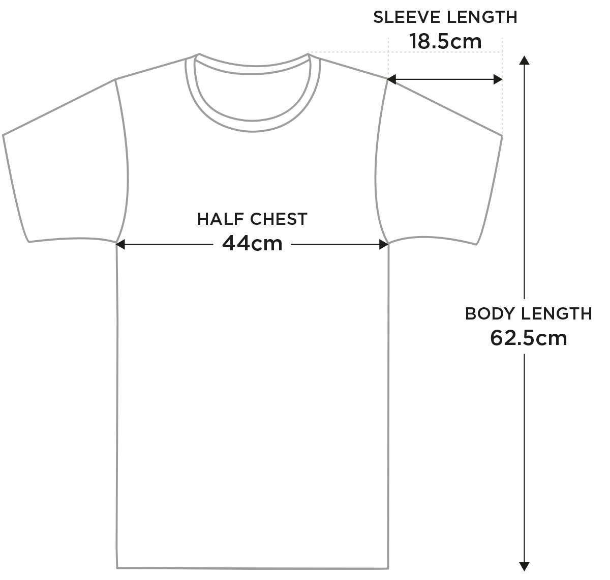 Size guide xl