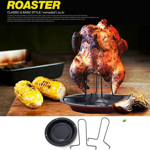 1PC Kitchen Outdoor BBQ Tools Chicken Duck Holder