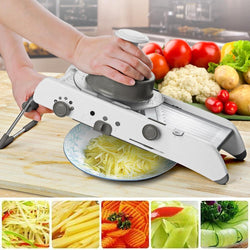Multi-functional Vegetable and Fruit Slicer