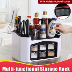 Multi-Functional Storage Rack