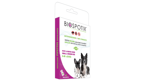 BIOSPOTIX REPELLENT  FOR SMALL OR LARGE DOGS