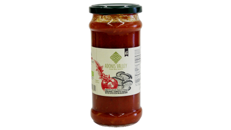 ORGANIC TOMATO SAUCE WITH OYSTER MUSHROOM