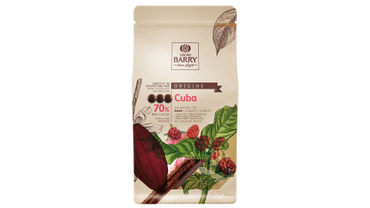 BARRY DARK CHOCOLATE COUVERTURE CUBA 70% 1 KG