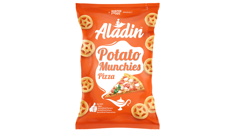 ALADIN POTATO MUNCHIES-PIZZA FLAVOR