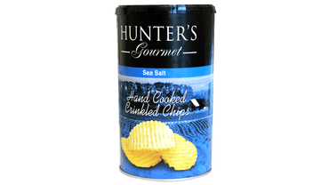 CRINKLED CHIPS SEA SALT CANISTER