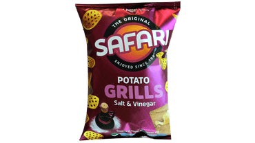 SAFARI POTATO GRILLS SALT  & VINEGAR