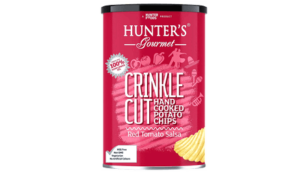 CRINKLE CUT CHIPS TOMATO SALSA