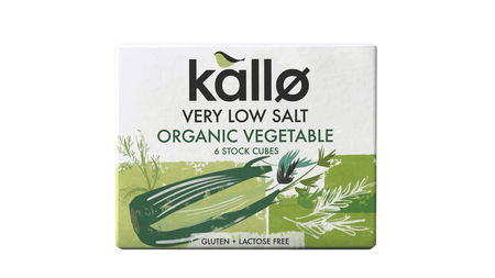 ORGANIC VEGETABLES VERY LOW SALT STOCK CUBES