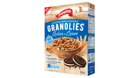GRANOLIES  COOKIES AND CREAM