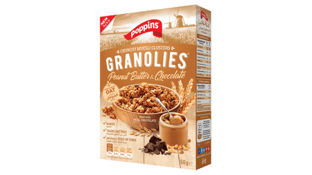 GRANOLIES PEANUT BUTTER AND CHOCOLATE