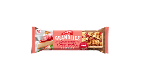 GRANOLIES OAT BAR STRAWBERRY CHEESECAKE
