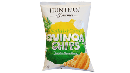 QUINOA CHIPS JALAPENO & CHEDDAR