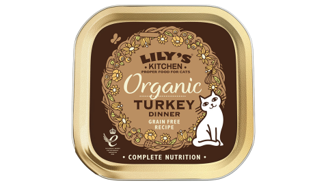 CAT ORGANIC TURKEY DINNER
