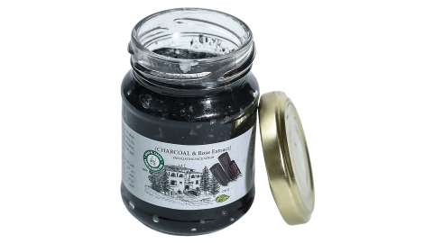 EXFOLIATING FACE SCRUB CHARCOAL