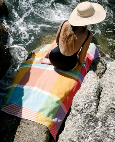 Folly Beach towel in stock @ Clarens Interiors