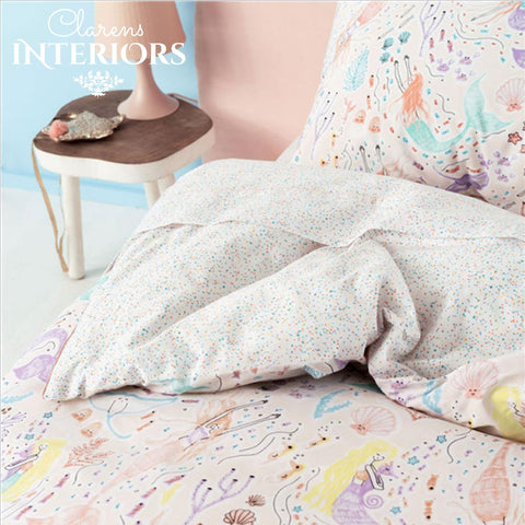 Mermadia Pink Duvet Set Clarens Interiors Bed Linen