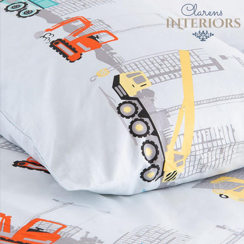 Skyline grey duvet cover Clarens Interiors Bed Linen