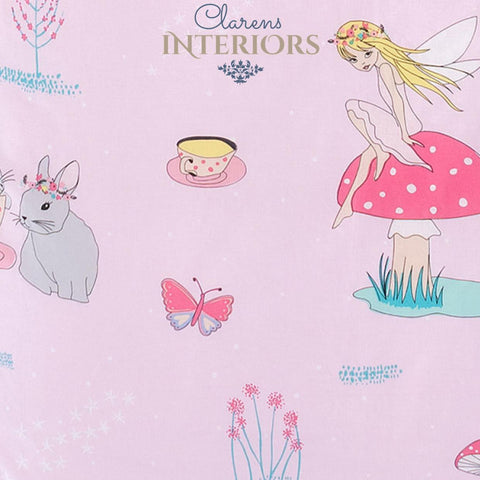 Fairy Tea Party duvet cover set Clarens Interiors linen