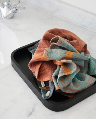 Fantastic MUNGO woven cotton washcloth now available @ Clarens Interiors