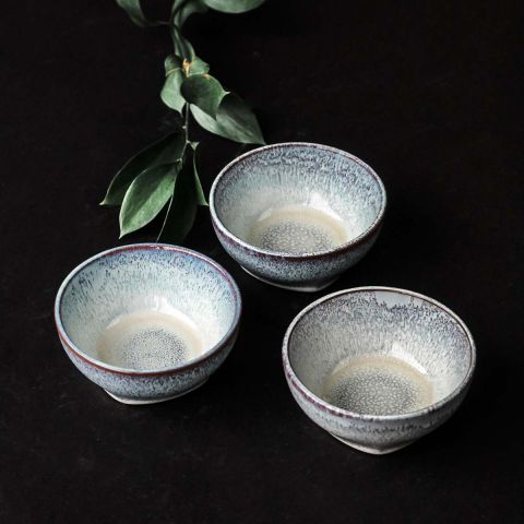 SMALL BOWL - MULTI GREY