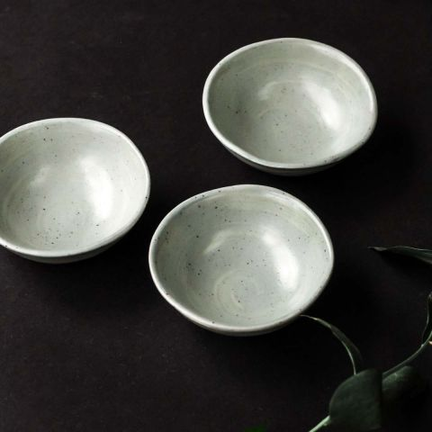 DIPPING BOWL - MATT DOVE