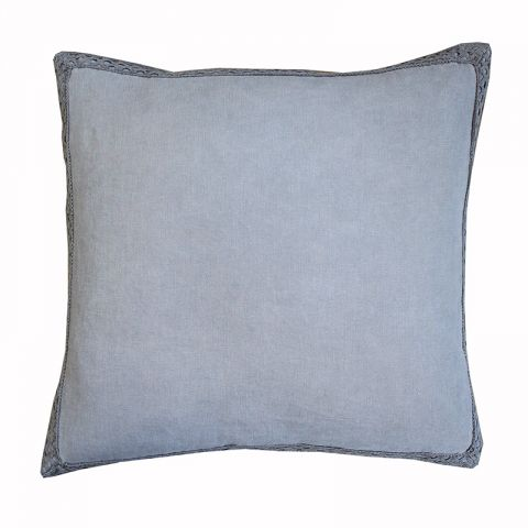 LACE GREY CUSHION