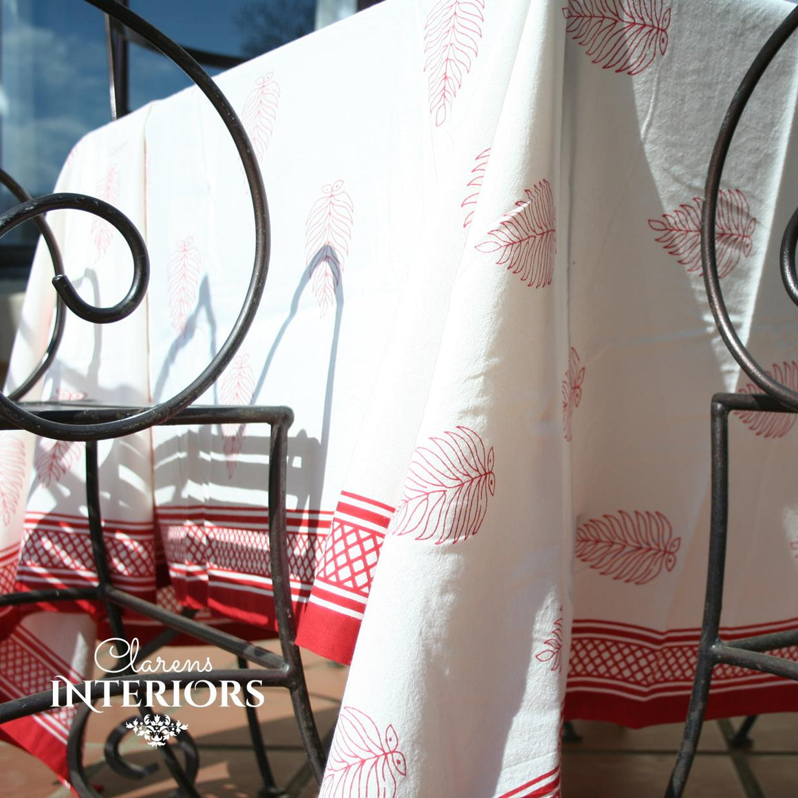 Red leaf Table cloth