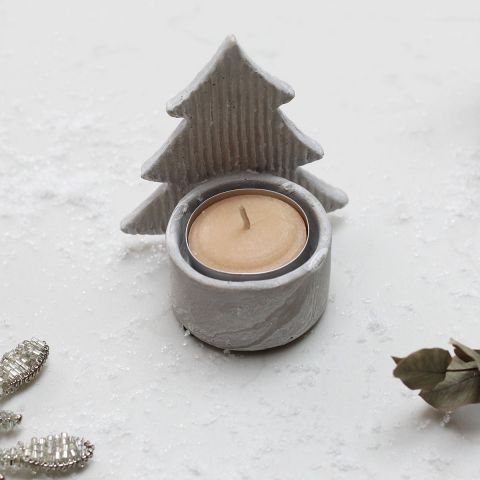 STANDING TREE TEALIGHT HOLDER