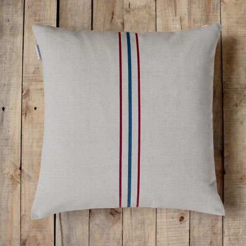 COUNTRY STRIPE CUSHION
