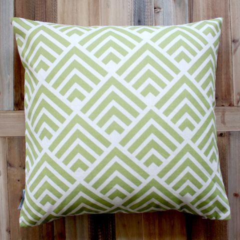 ART CUSHION GREEN