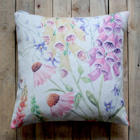 FOXGLOVE CUSHION - NATURAL
