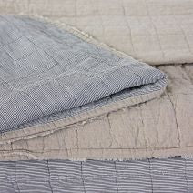 VIKA WASHED LINEN QUILT