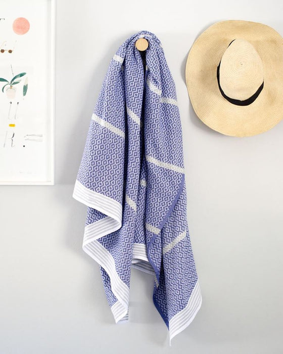Itawuli Towel - Blue Moon