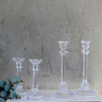 ELIZE GLASS CANDLE STICK