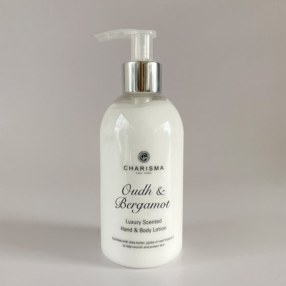 Oudh & Bergamot Hand & Body Lotion